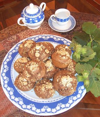 Muffin al Cioccolato e Nocciole
