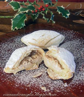 Sfogliatelle Abruzzesi – Crema di Cioccolato e Ricotta