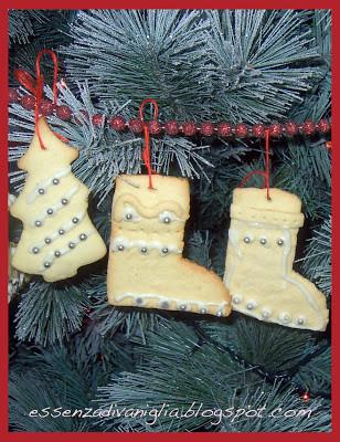 Biscottini di Natale per l'Albero