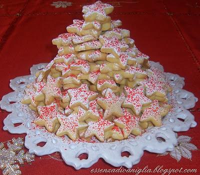 Sablé Alle Mandorle – Stelle di Natale
