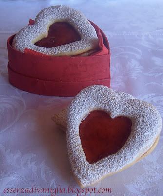 Biscotti a Cuore per San Valentino
