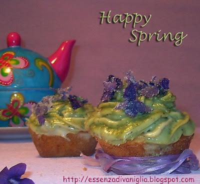 Cupscakes di primavera