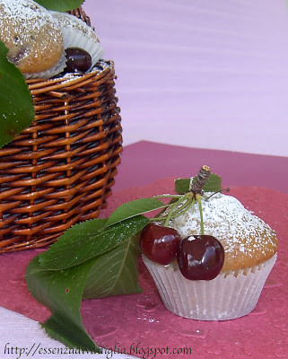 I meravigliosi Muffins alla Ciliegia di Anice&Cannella…