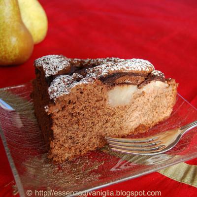 TORTA PERE & CIOCCOLATO (profumata alla vaniglia)