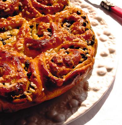 """Torta """"La Suisse"""" o Brioche Chinoise"""