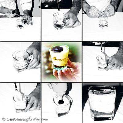 Il Tiramisù al bicchiere di Salvatore Tiscione & sons (chef di Felice a testaccio)