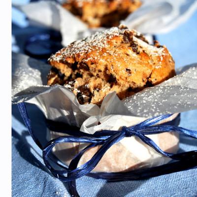 Un goloso segnaposto per la tavola di Natale: panettoncini al cioccolato