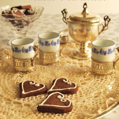 Biscotti al Cacao e Caramello