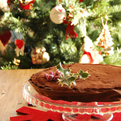Crostata con Mousse al Gianduia