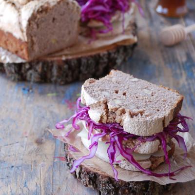 Pane di Castagne con Nocciole