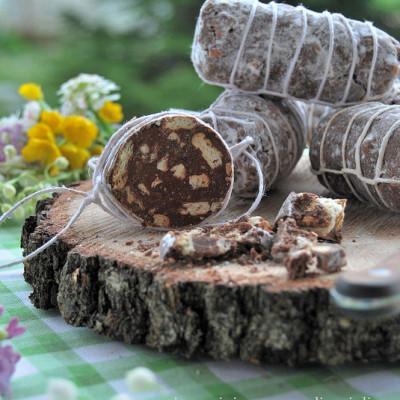Salamini di Cioccolato al Latte-senza uova
