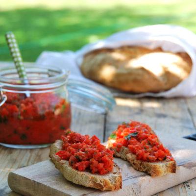 Una marinata per bbq e una salsa ai peperoni per le vostre scampagnate