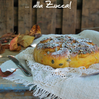 Torta di rose d'Autunno con la Zucca… (a lievitazione naturale)
