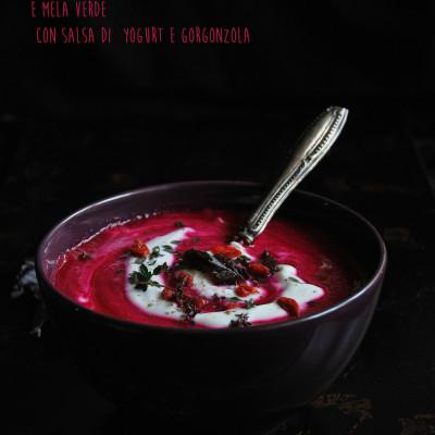 Vellutata di rapa rossa e mela verde per Taste&Moren n.12