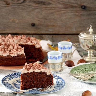 Torta di castagne e ricotta (glutenfree)