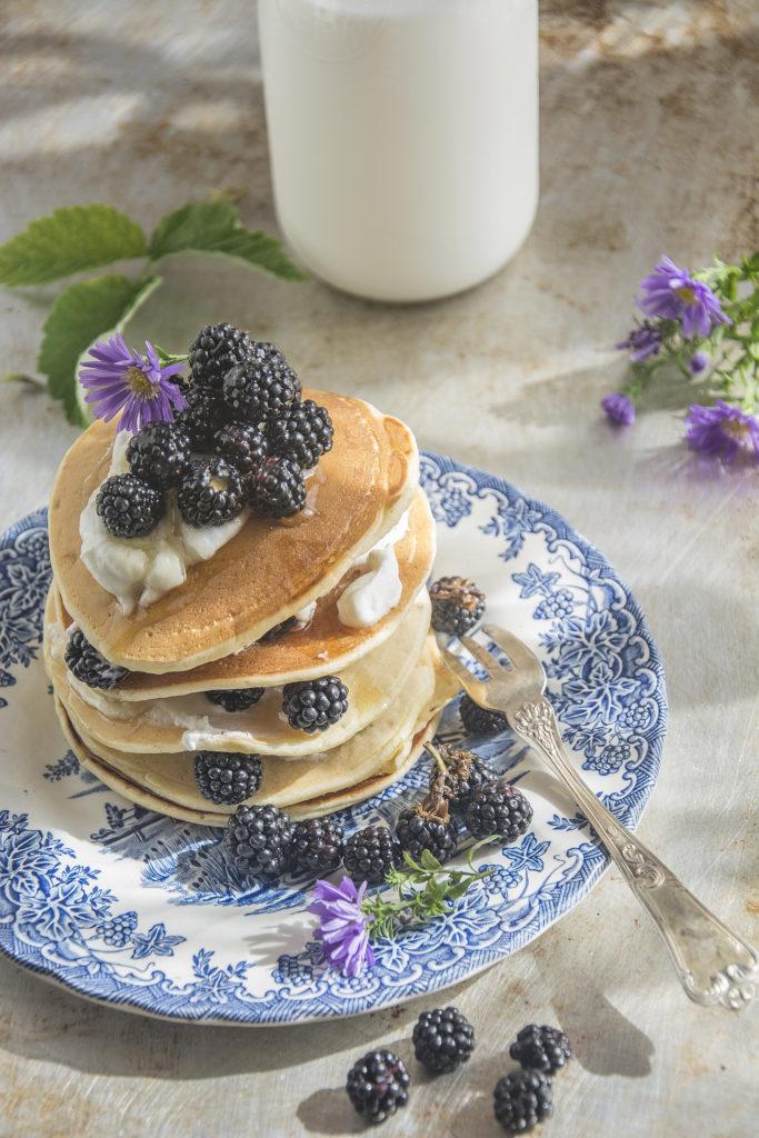 Ricetta Pancake Alla Quinoa.Pancake Senza Glutine Di Quinoa E Yogurt Senza Zucchero