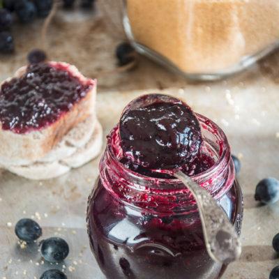 Confettura di Uva Fragola -al microonde