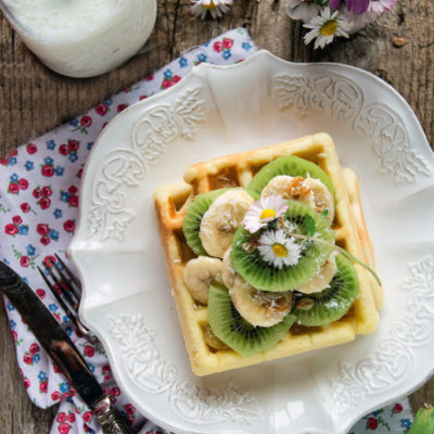 Waffles sofficissimi! (senza lattosio)
