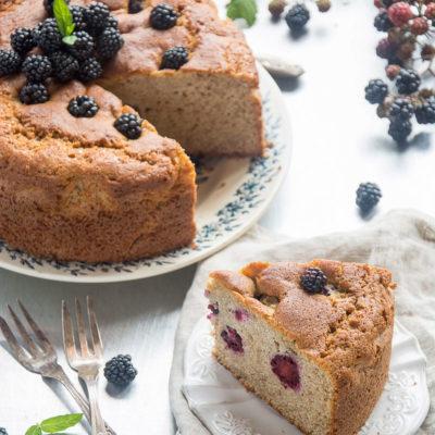 Torta Morbida alle More e Grano Saraceno