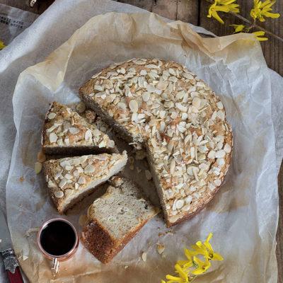 Torta di Ricotta con Pere e Mandorle – Senza Glutine