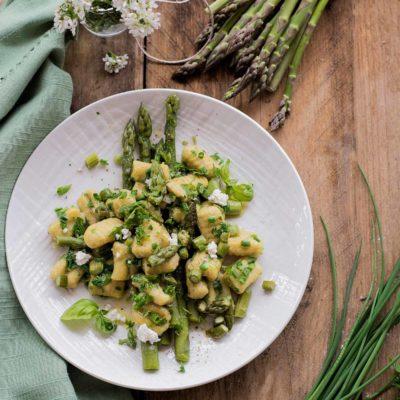 Gnocchi di Patate con Asparagi – Senza Glutine