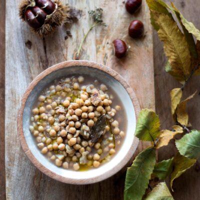 Zuppa ceci castagne – Ricetta Abruzzese