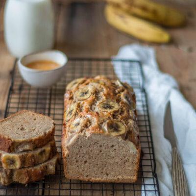 Banana bread con miele e ricotta- Gluten Free